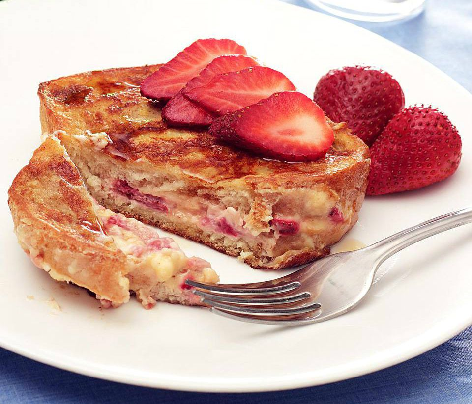 Stuffed French Toast Bake