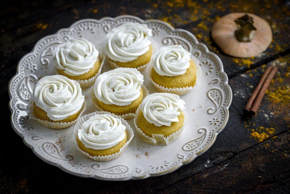 MIni Pumpkin Cupcakes recipe