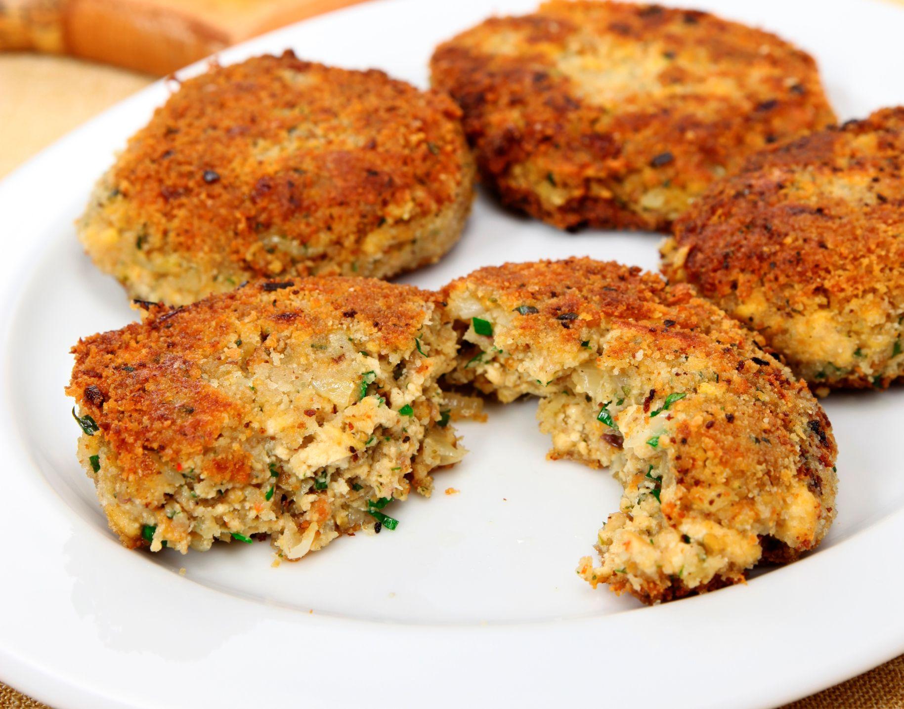 Vegan Crab Cakes Fish Cakes Recipe