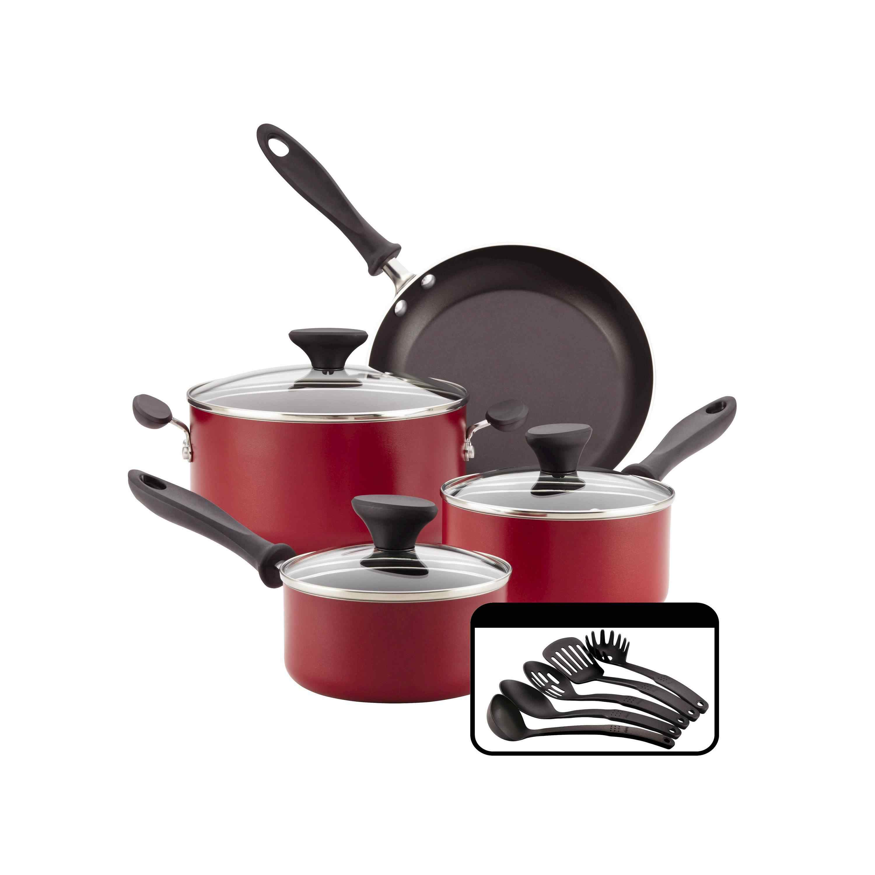 Best Starter Set For Small Kitchens Farberware Cookware