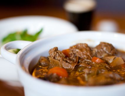 Delicious Catalan-style beef stew