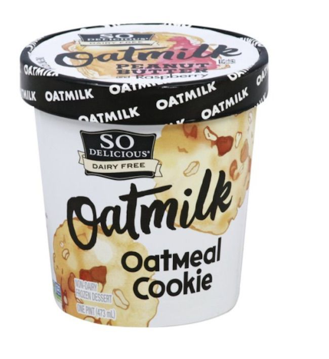 So Delicious Oatmilk Oatmeal Cookie Dairy Free