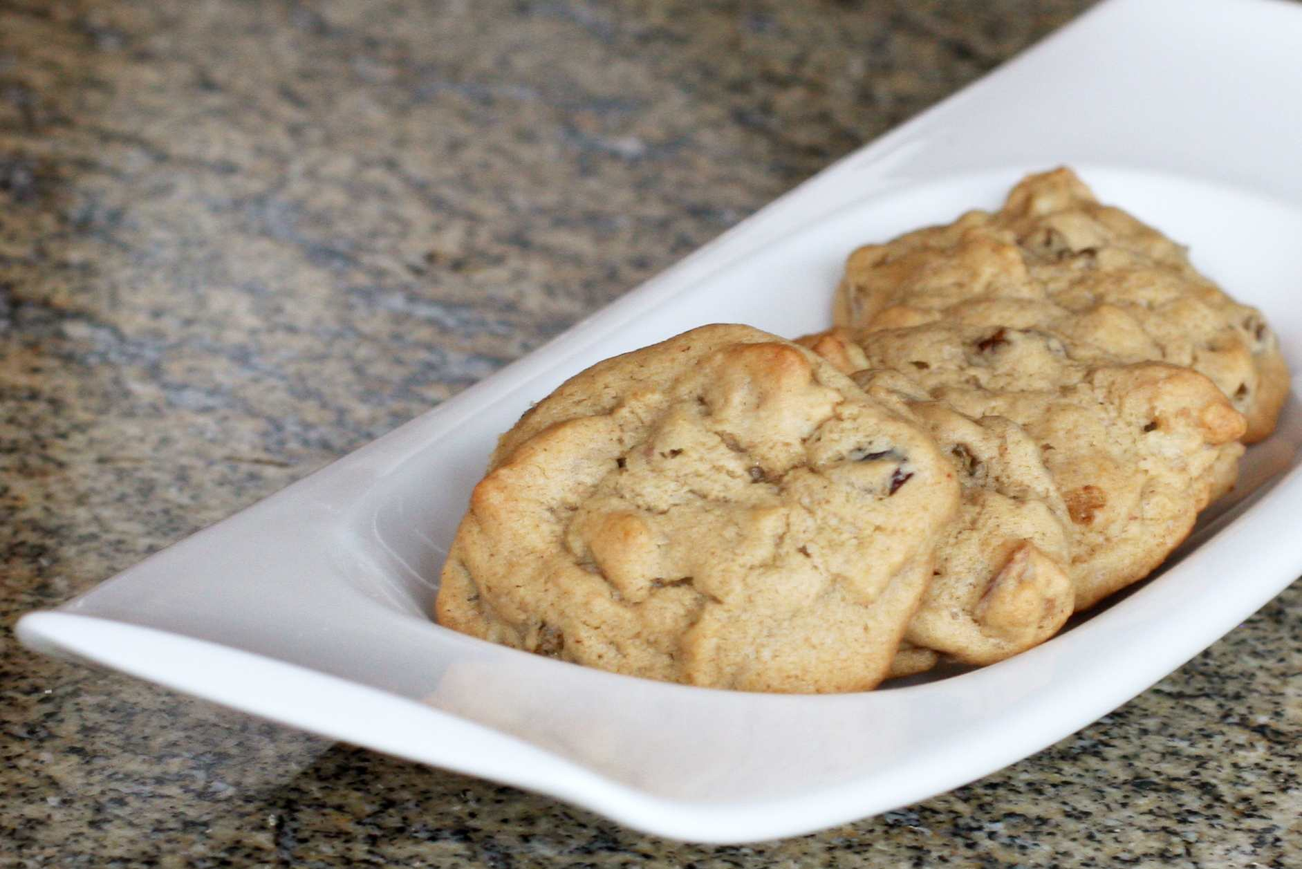 old fashioned hermit cookies with raisins