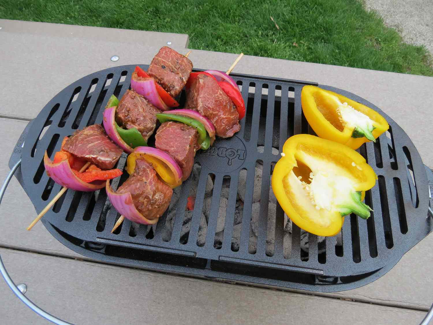 Lodge Cast Iron Grill Review Full Of Flavor Built To Last