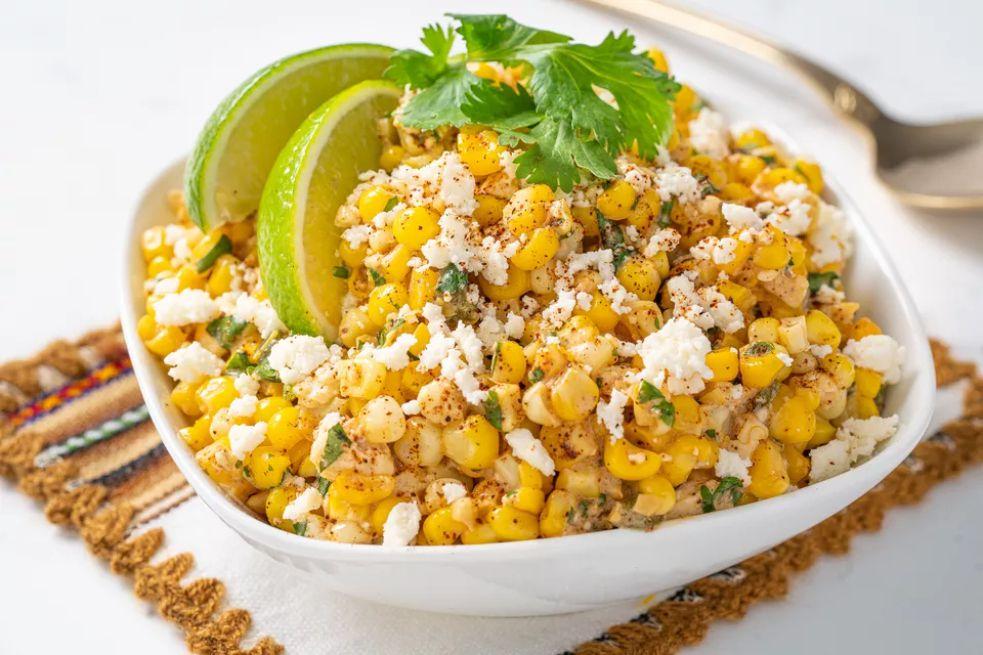 Esquites (Mexican Corn Off the Cob)