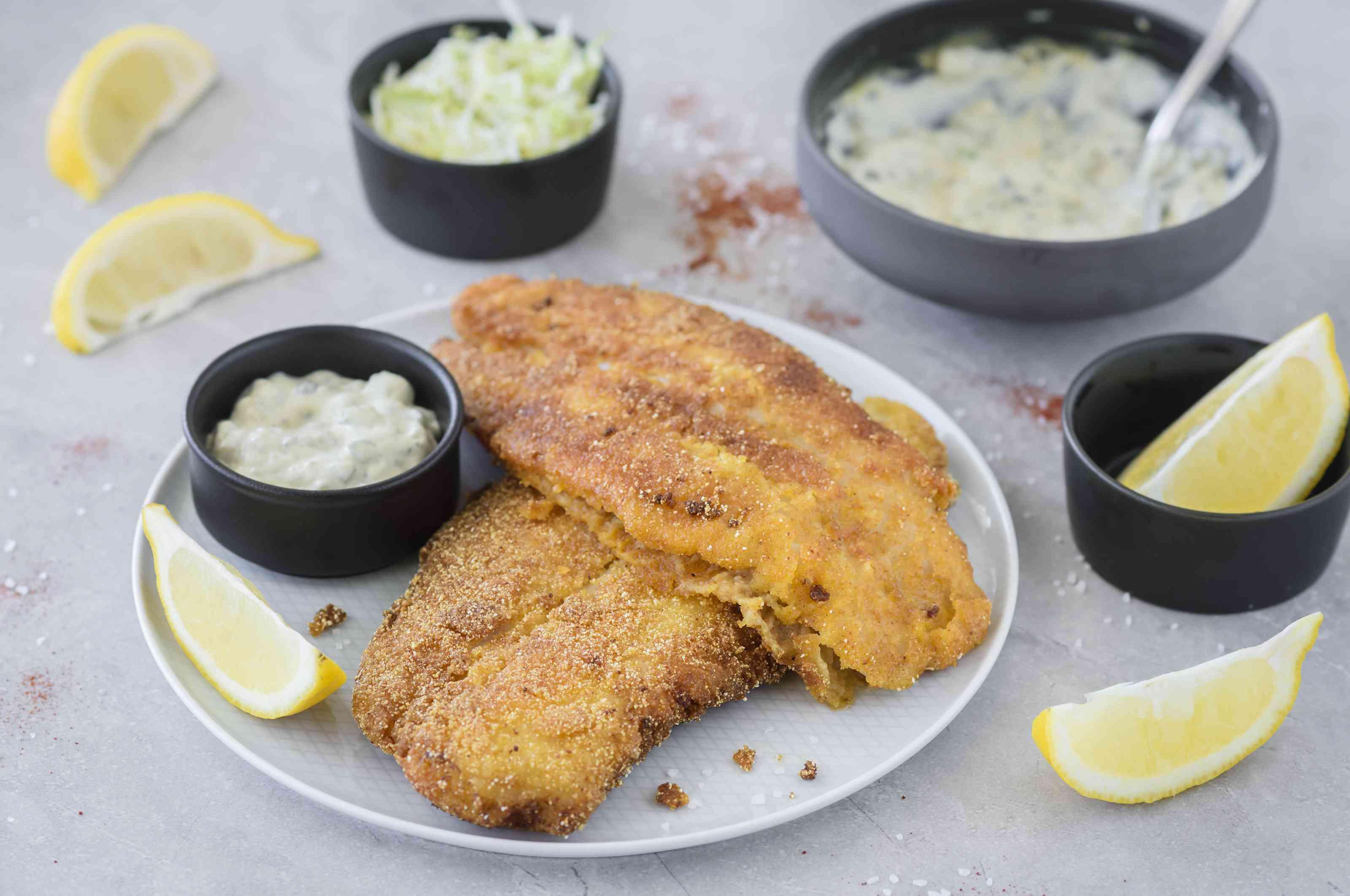 Classic summer fried catfish recipe