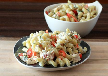 Pasta Salad With Tuna And Dill Recipe