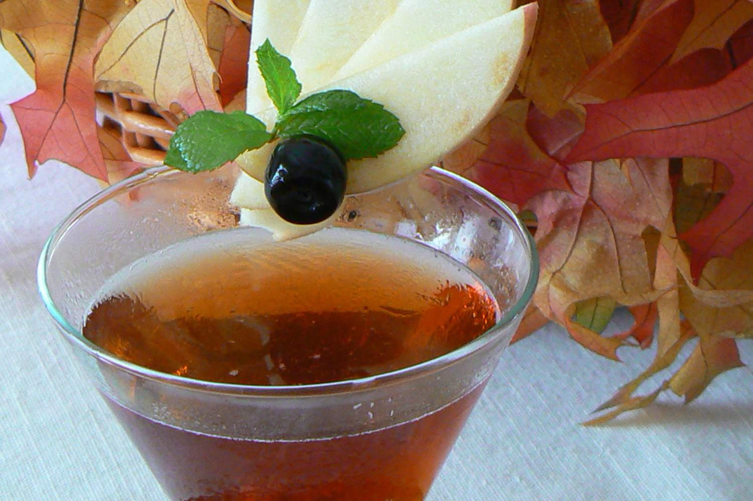 Robert Watrous' The Rustic Manhattan Cocktail