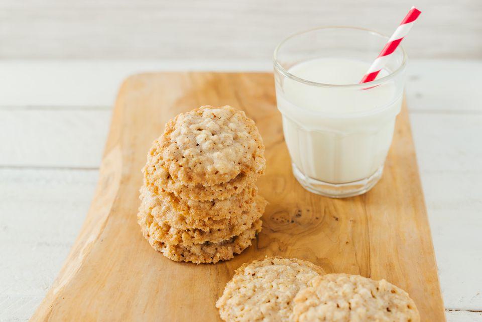 Oatmeal butter cookies