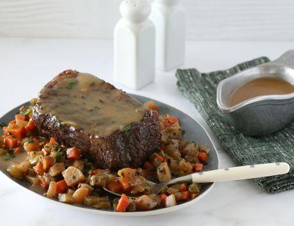 Homestyle slow cooker pot roast