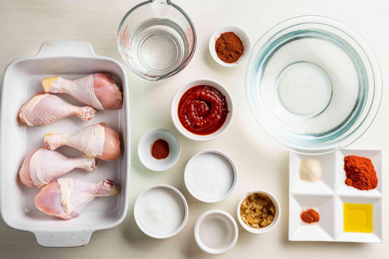 Better BBQ Chicken Legs ingredients