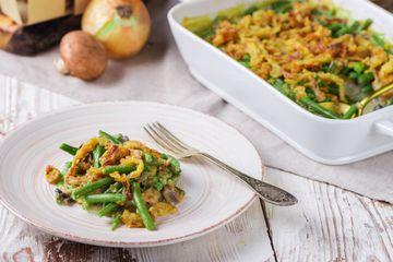 Classic holiday green bean casserole
