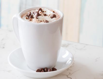 Chocolate Kiss - Spiked Hot Chocolate Cocktail