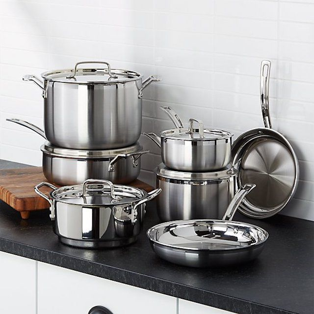 Cuisinart Multiclad Tri-Ply Cookware Set