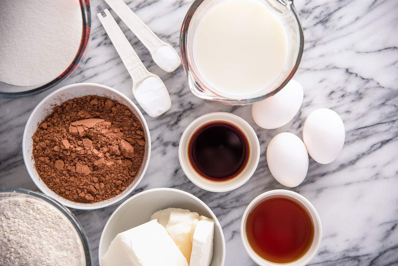 Dairy free chocolate cake ingredients
