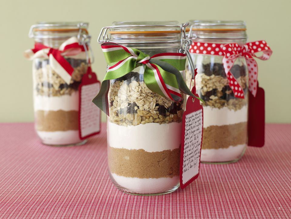 Cookie Mixes in a Jar