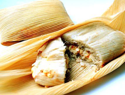 Vegetarian Tamales Recipe