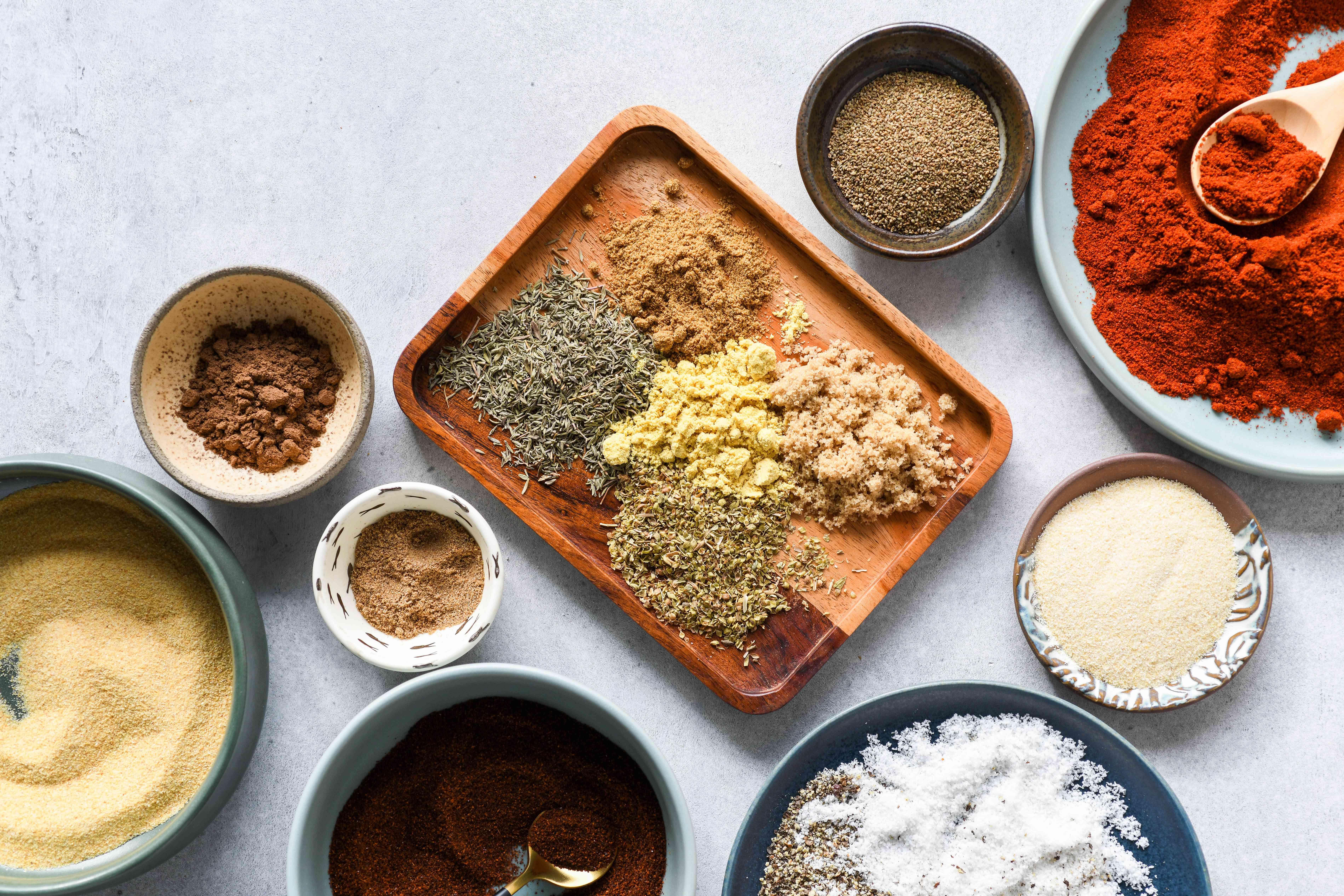 Mouthwatering Memphis Rub ingredients