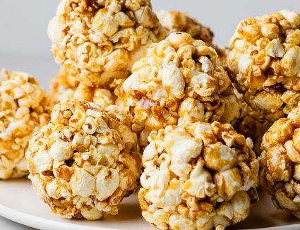 Quick and Easy Popcorn Balls