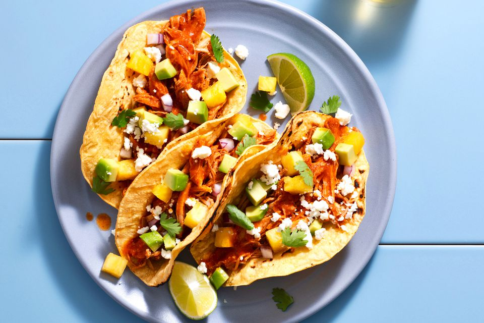 Sweet and Spicy Tacos al Pastor
