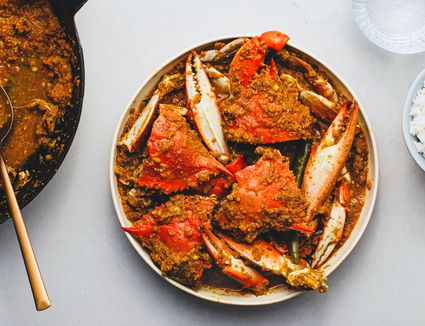 Indian Crab Curry