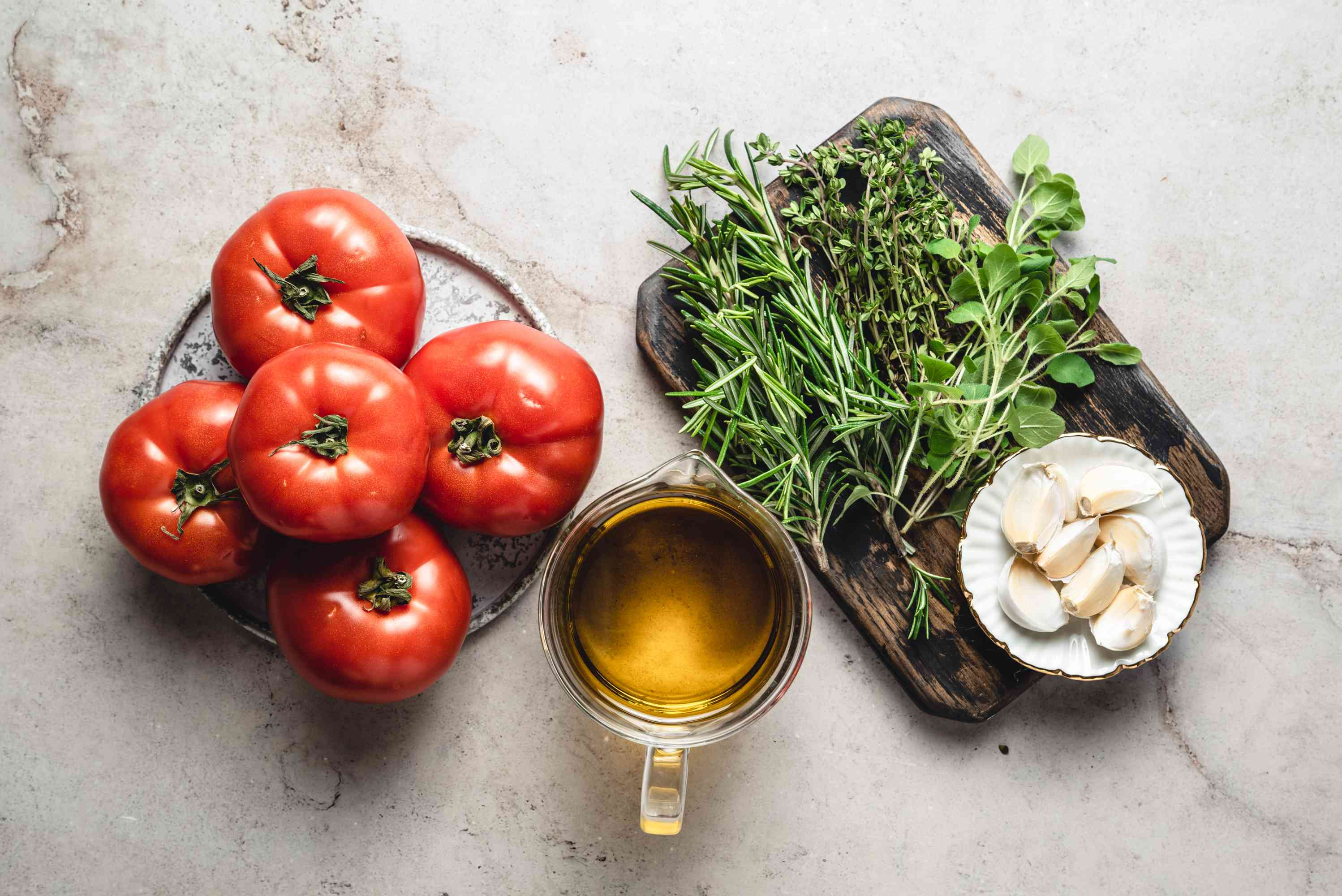 Preserved Tomatoes in Olive Oil ingredients