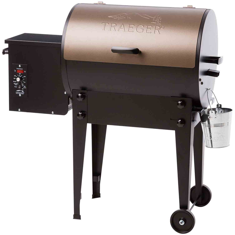 Traeger Hickory Hardwood Pellets Burning Wood Barbecue Bbq Smoking Smoker Grill