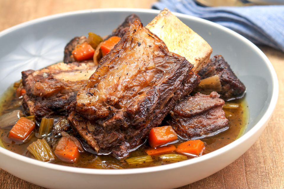 Savory Slow Cooker Short Ribs
