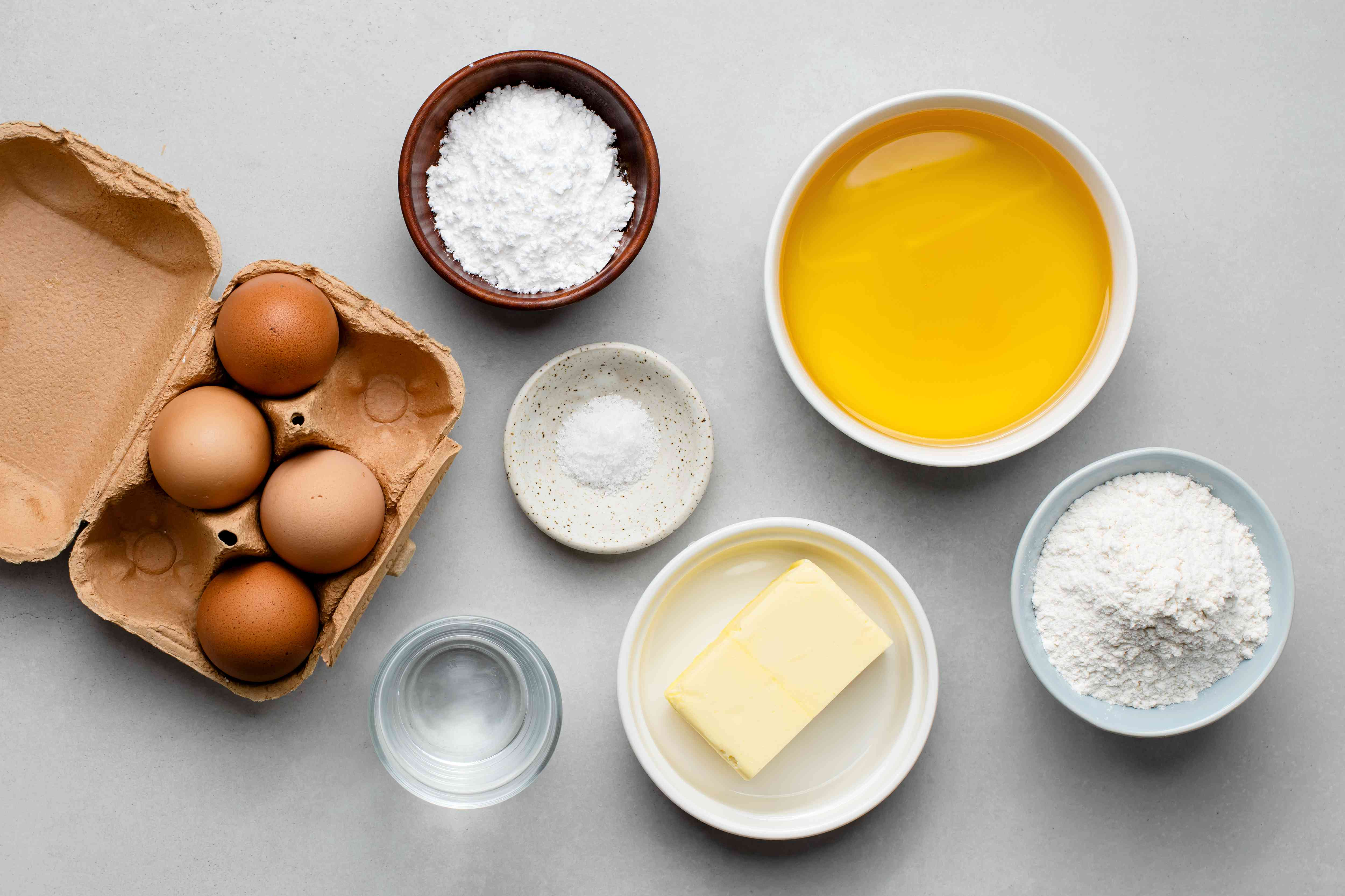 Easy Classic French Beignets ingredients
