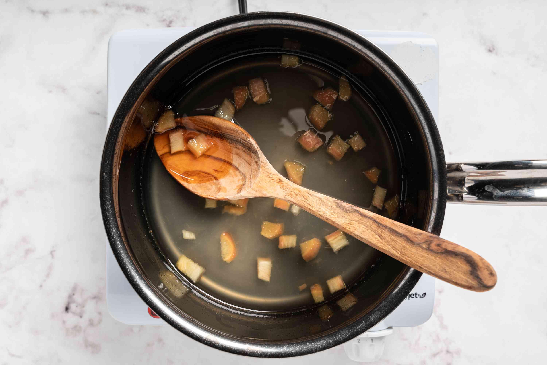 mixture in a pot