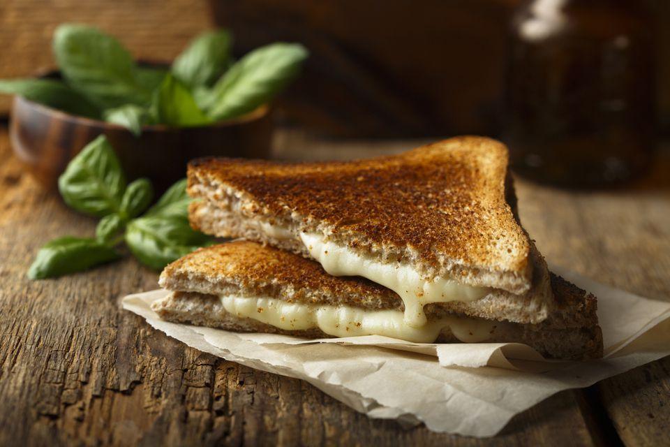 Mi sándwich de queso a la parrilla favorito