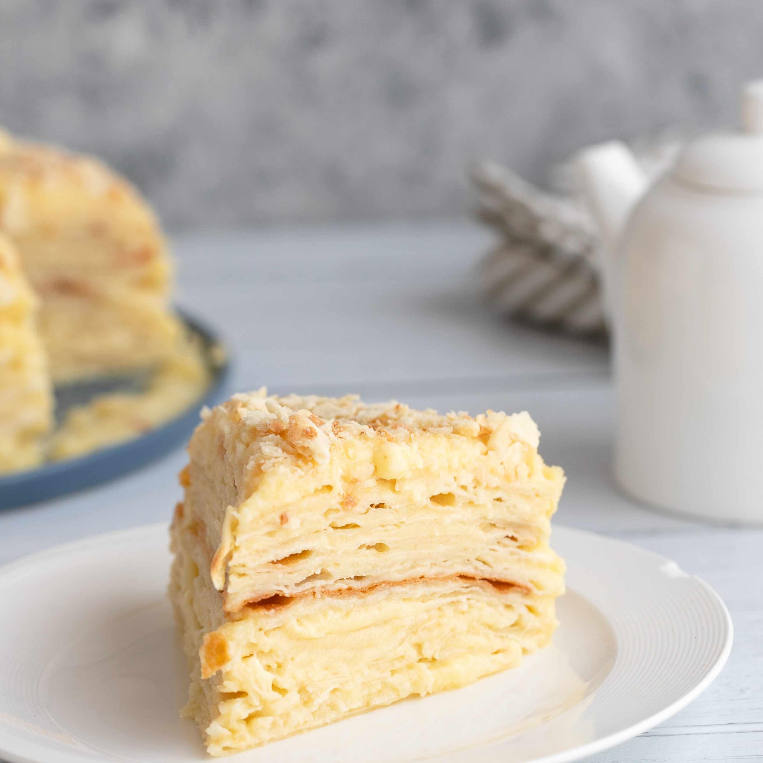 Cake slice on a plate