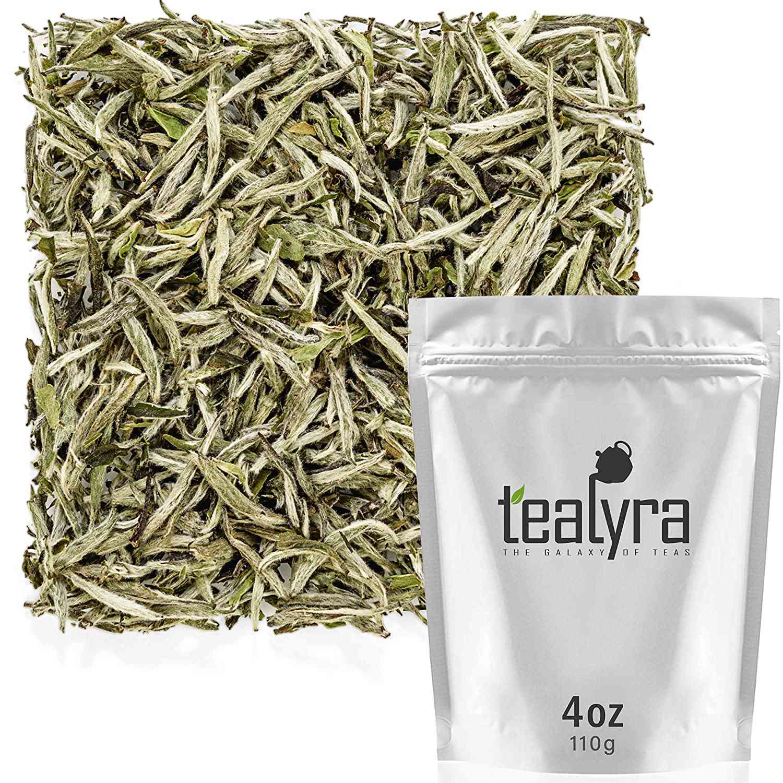 Tealyra Bai Hao Yin Zhen Silver Needle Loose Leaf Tea