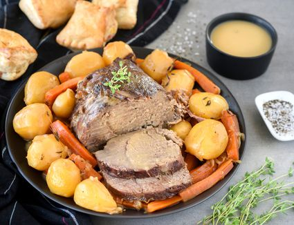 Crockpot beef roast recipe