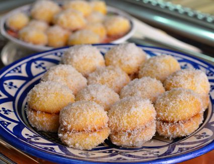 Moroccan Coconut Snowball Cookies