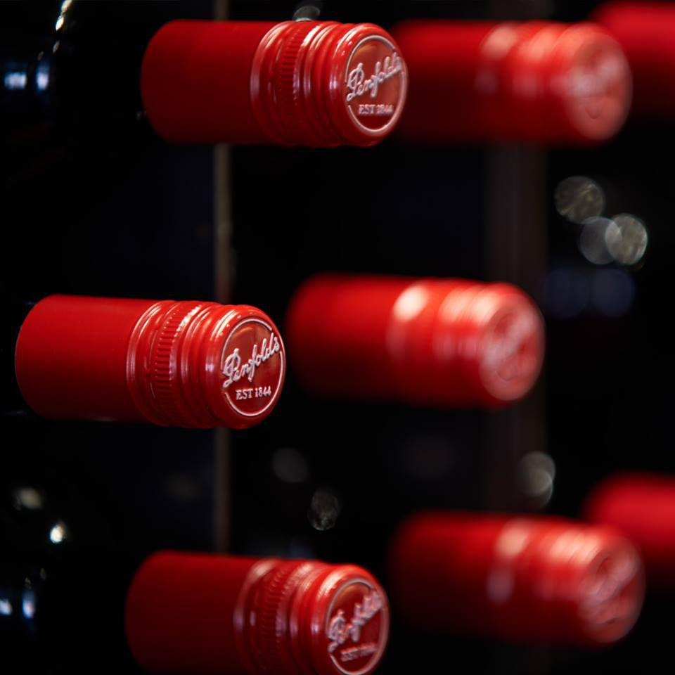 Penfolds wine tops