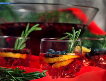 Cranberry Fresh Gin Punch