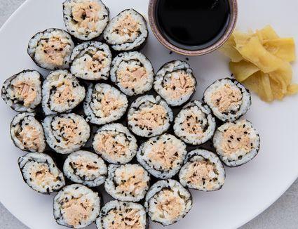 Tuna Salad Sushi Roll