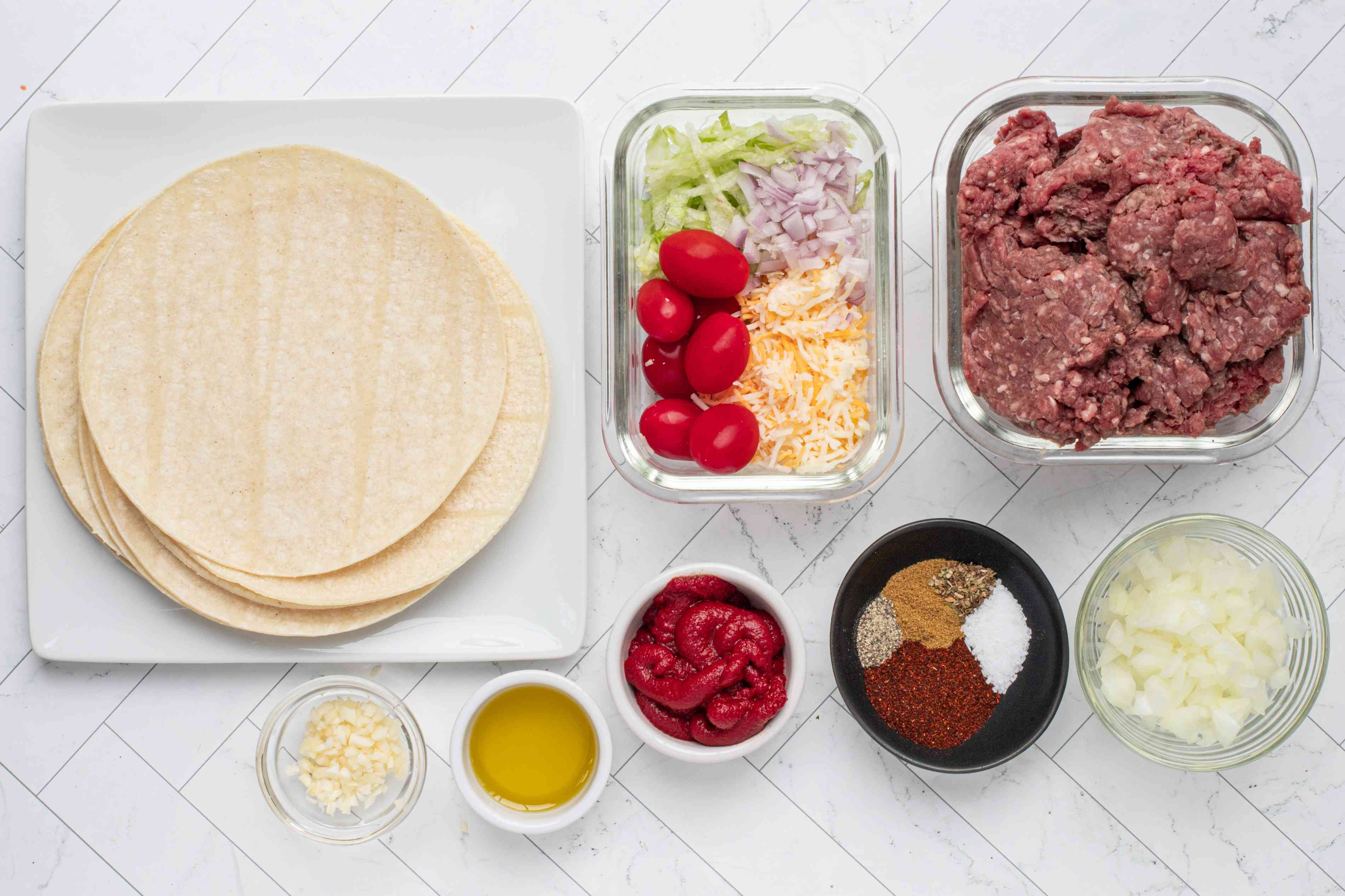 ingredients for best tacos