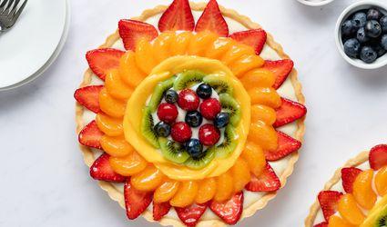 Glazed Fruit Tart
