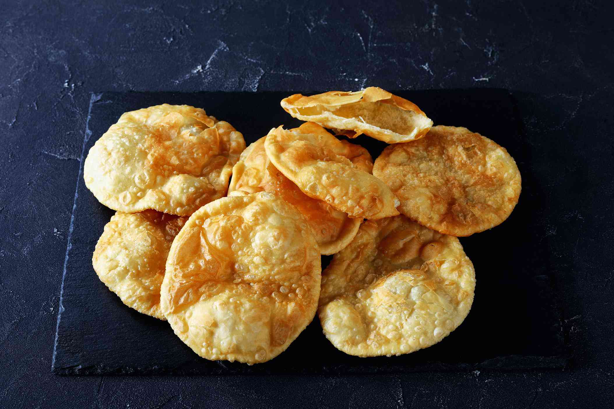 Bhatura Leavened Fried Indian Bread