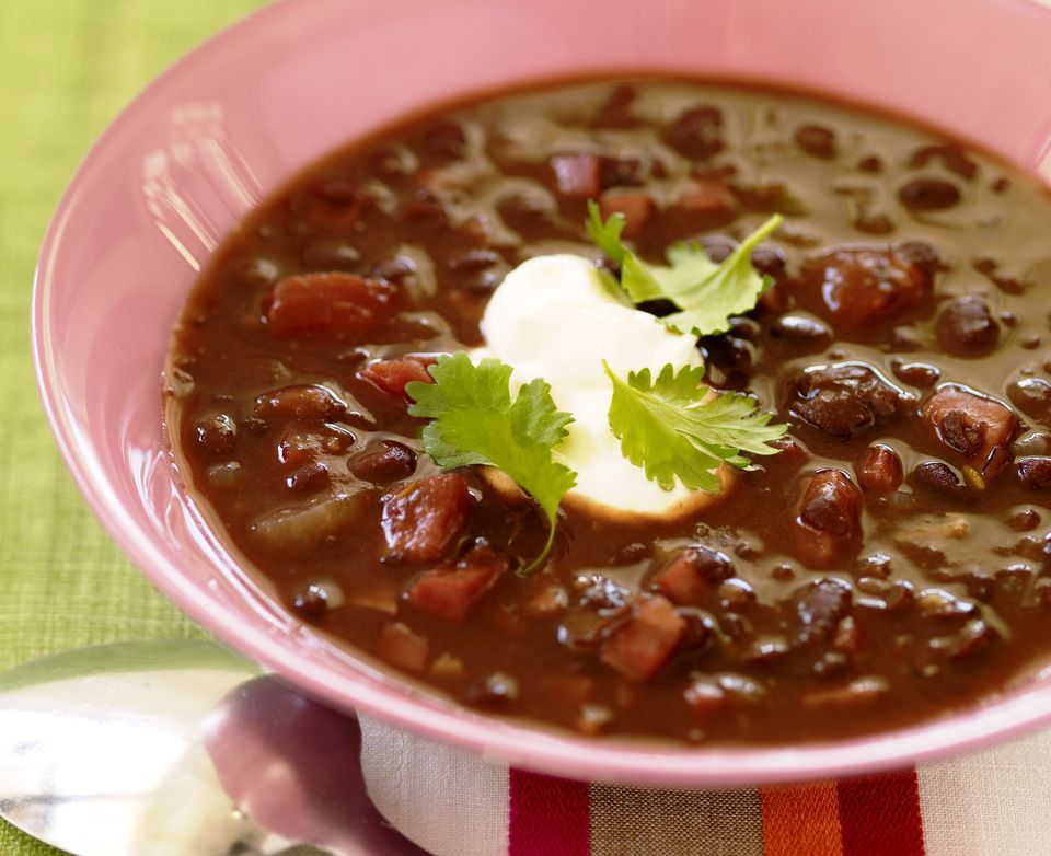 Vegetarian black bean soup
