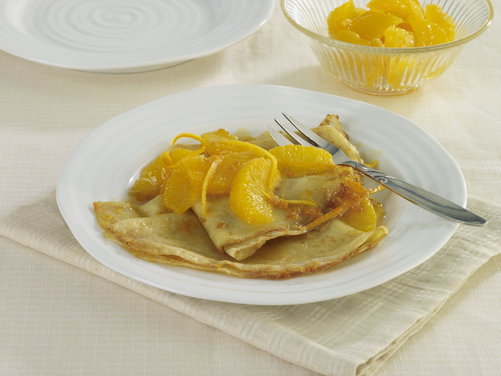 No Flambe Orange Crepes Suzette Recipe