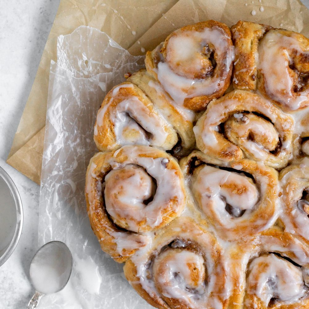 The Easiest Cinnamon Roll Recipe Using Frozen Bread Dough