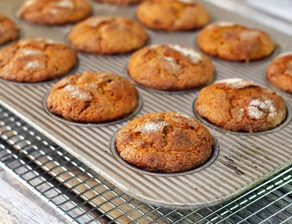 Sweet Potato Muffins With Cinnamon Sugar Topping