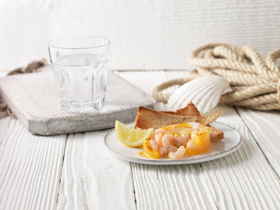Potted shrimp, a British appetizer
