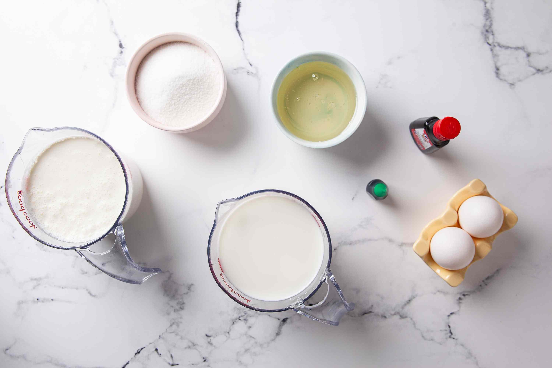 Mint Ice Cream ingredients