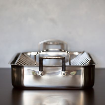 Cuisinart Chef's Classic Stainless 16-Inch Roasting Pan with Rack