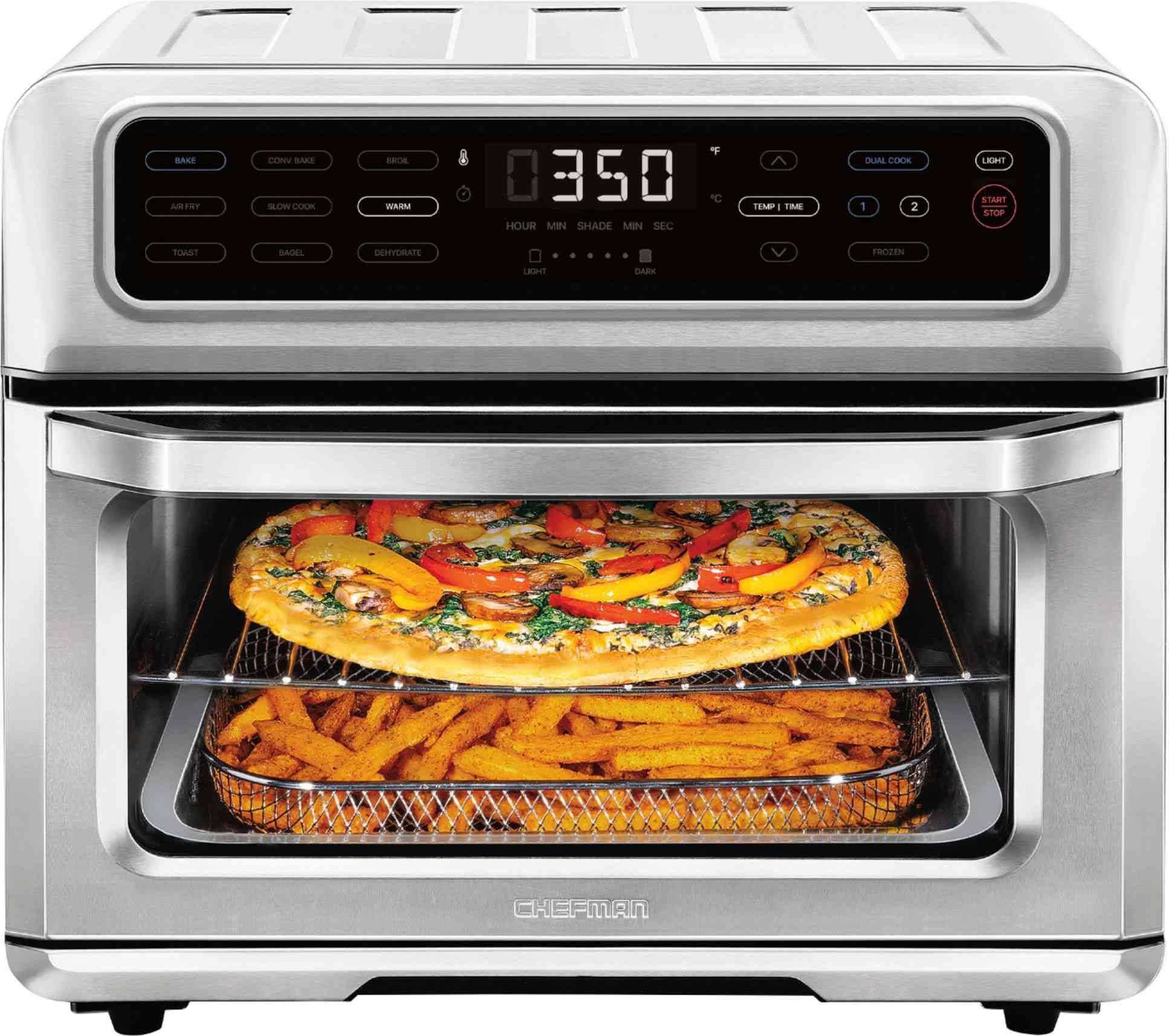 Chefman Toast-Air Dual Function Air Fryer