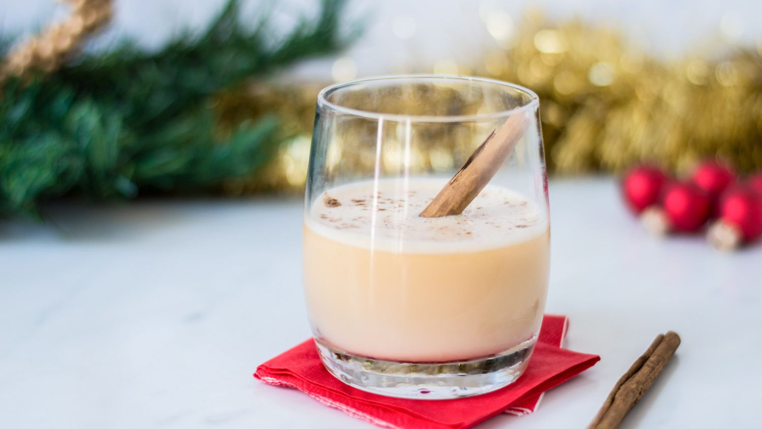 Quick Brandy Eggnog Cocktail Recipe